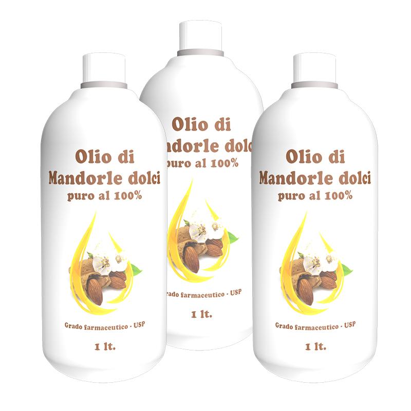 olio di mandorle dolce infinitymegastore.it tre litri