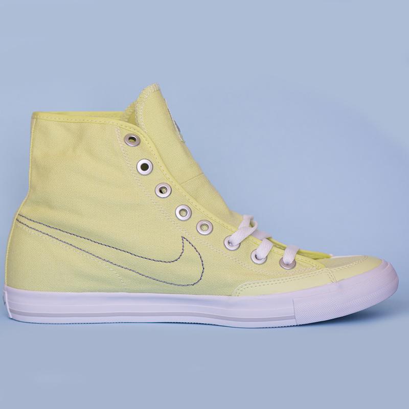 scarpe nike go mid 434498 giallo uomo