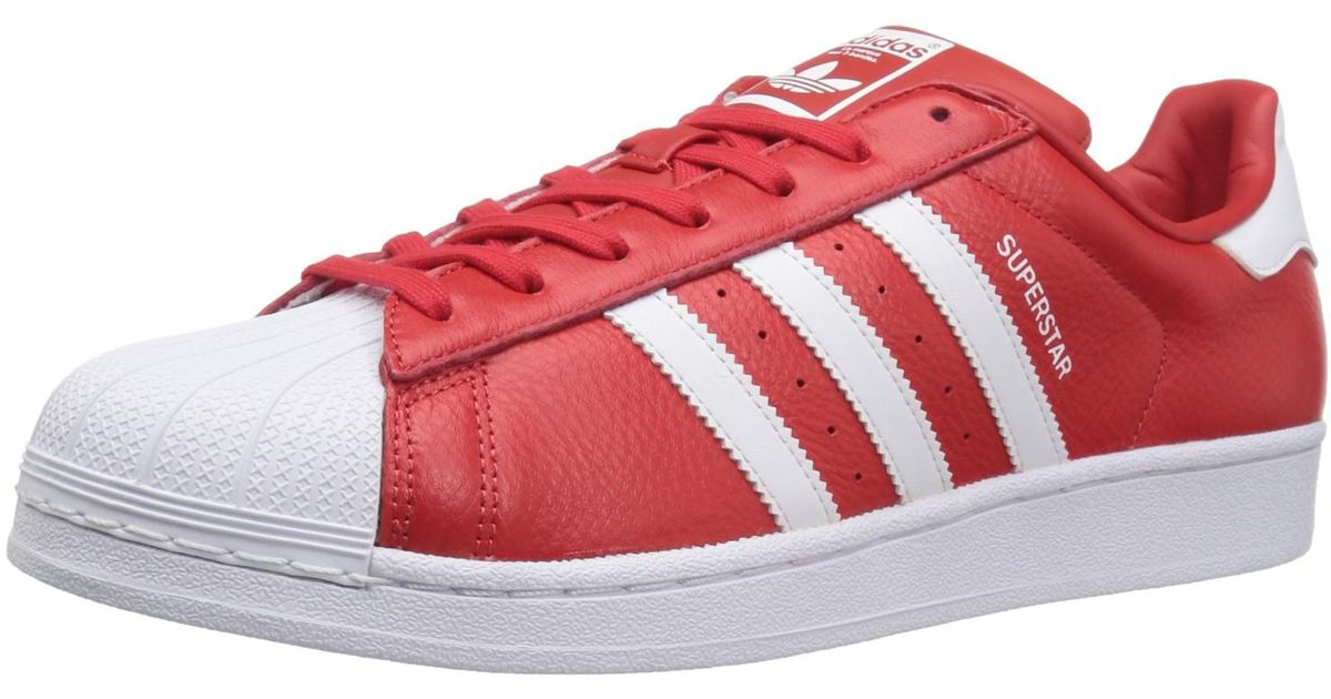 adidas superstar rosse e bianche