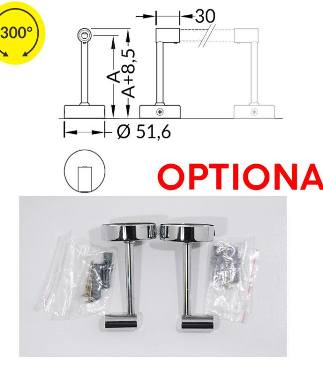 distanziatore per profilo alluminio pen
