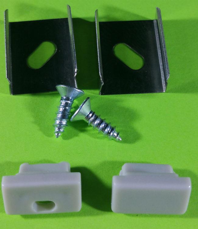 accessori per profilo alluminio slim