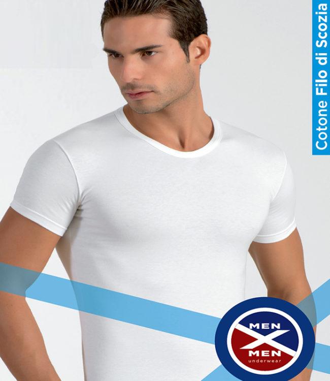 t-shirt uomo collo tondo intimo