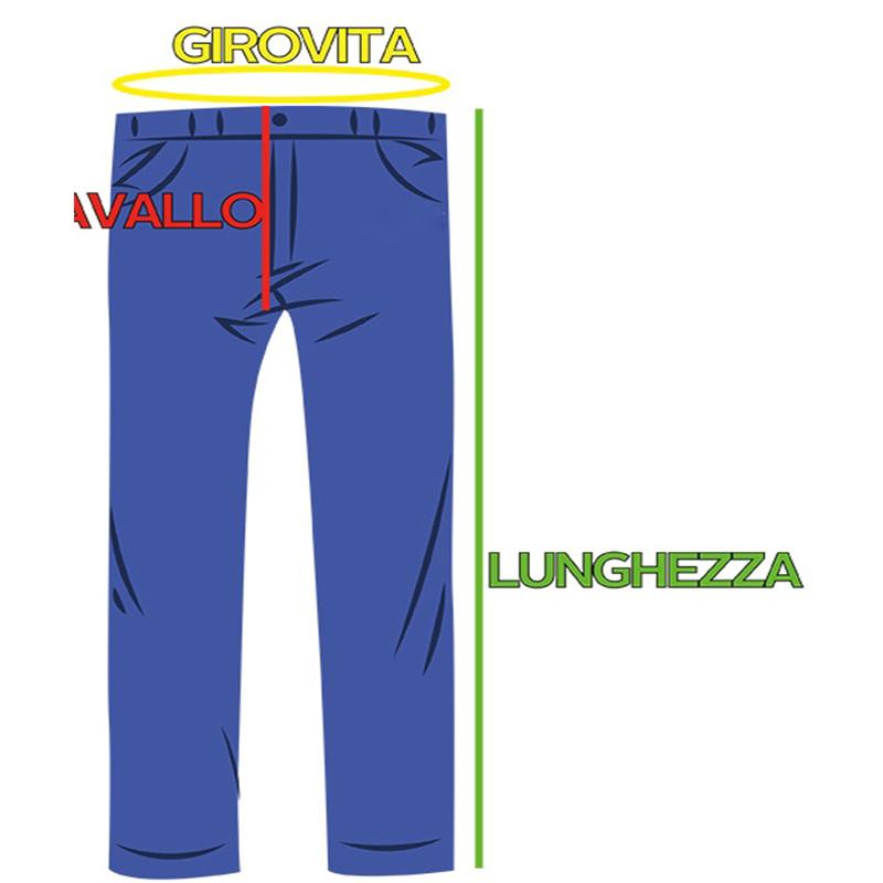 Taglia Jeans Donna Vita Alta Neri
