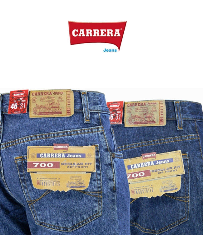 jeans carrera modlelo 700 denim regular
