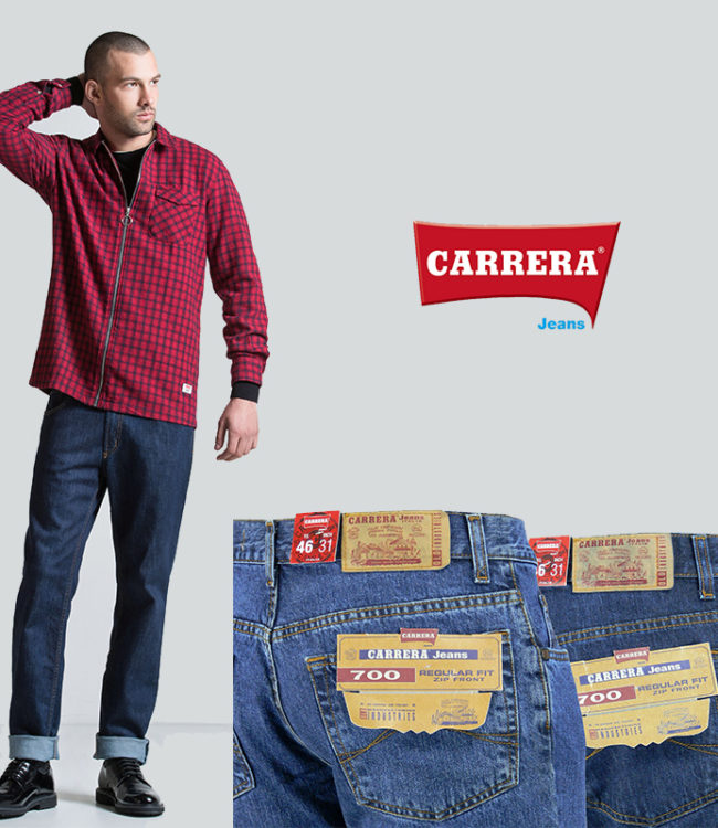jeans carrera modlelo 700 denim regular fit