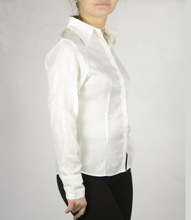 camicia bianca donna lato