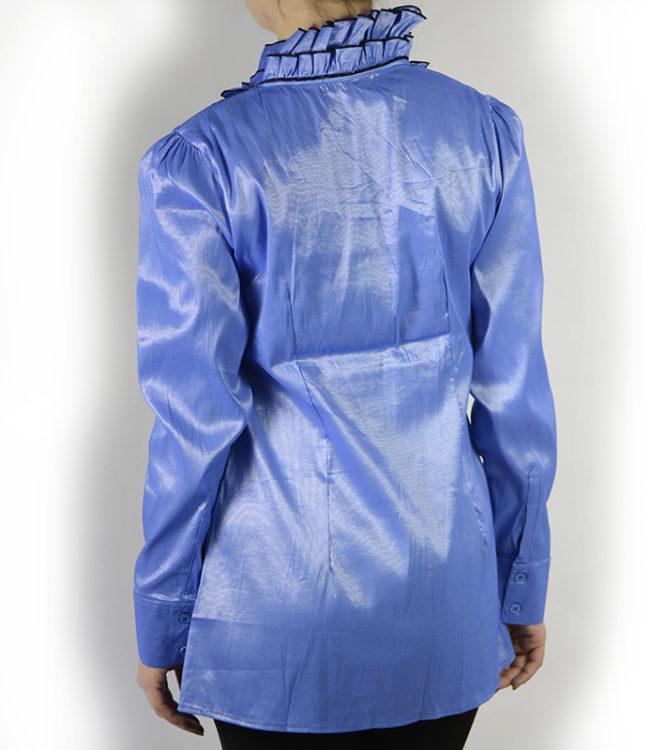 camicia blue chiaro donna a tunica 2