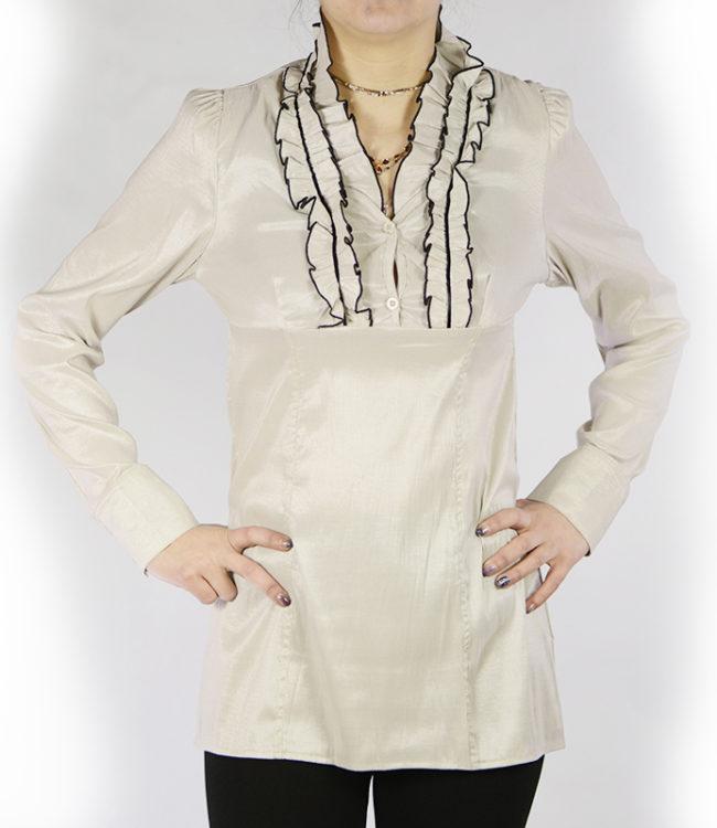 camicia panna donna a tunica