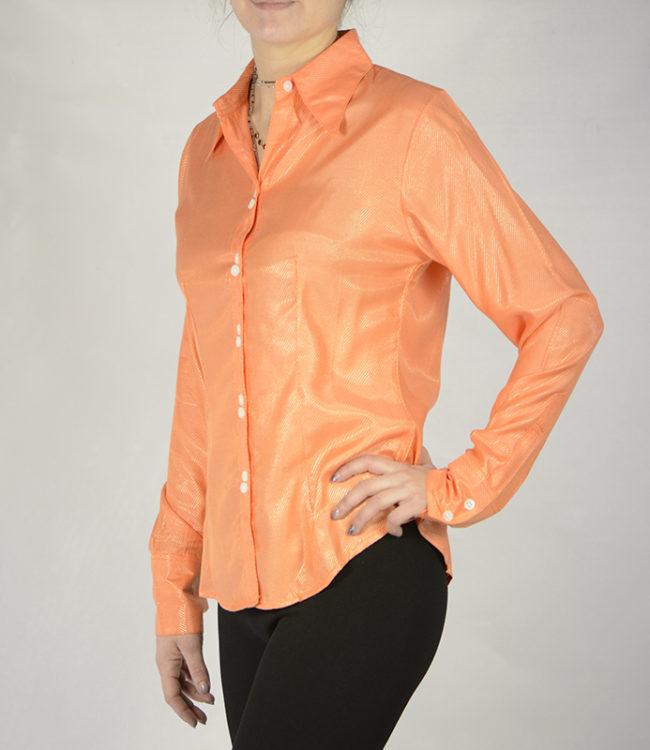 camicia donna pesca lato 1